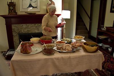 Thanksgiving at Ann & Bill's