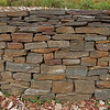 Bert built all the amazing retaining walls by hand over the years with stone from in and around the property.