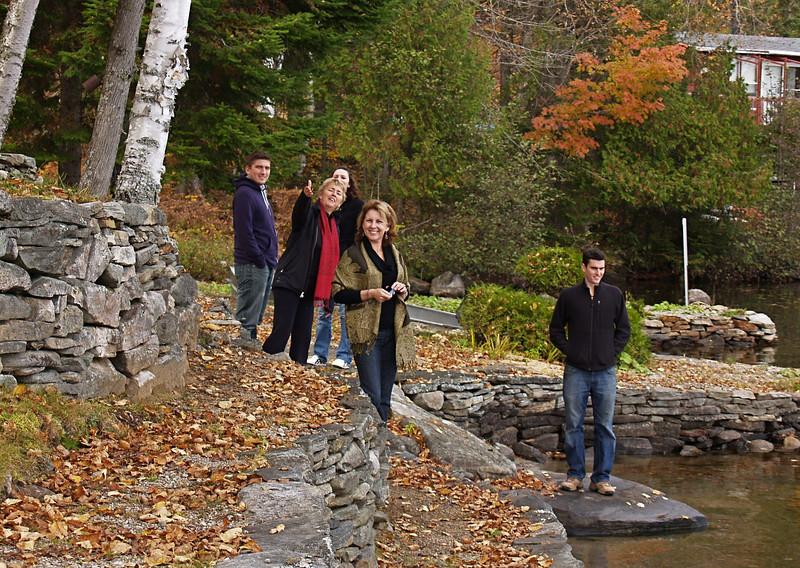 Michael, Carole, Marie-Eve, Andrea & Jean Francis