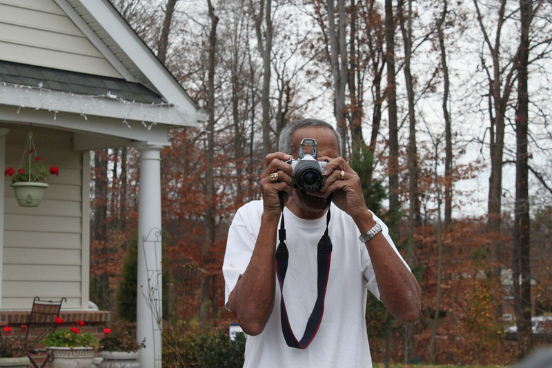 This is where I get the love of photography from my DAD!!