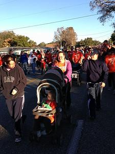 Thanksgiving walk.