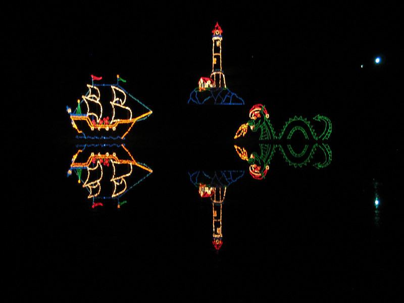 Festival of Lights in Tangle Wood, NC