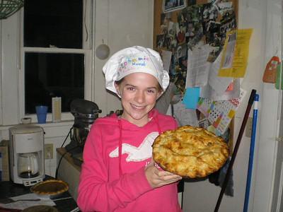 Stephanie's amazing apple pie!