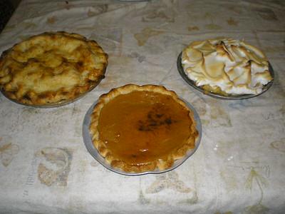 Beautiful pies!