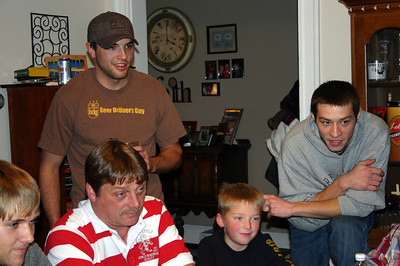 Brady, Daryl, Cory, Wyatt and Alex on Thanksgiving ( 2009 )