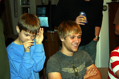 Gavin and Brady on Thanksgiving ( 2009 )