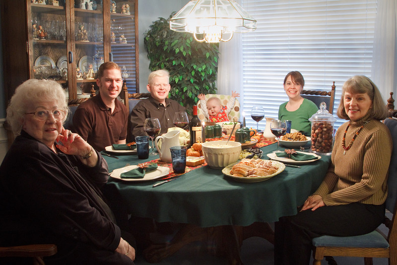 Thanksgiving Dinner with Grandma Ackers