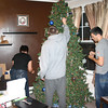 Lori, Alex and Cory decorating the Christmas Tree ( 2011 )