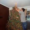 Cory puts the star on the Christmas tree ( 2011 )