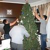Lori, Alex and Cory decorate the Christmas Tree ( 2011 )