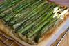 Asparagus Bean Pesto Tart