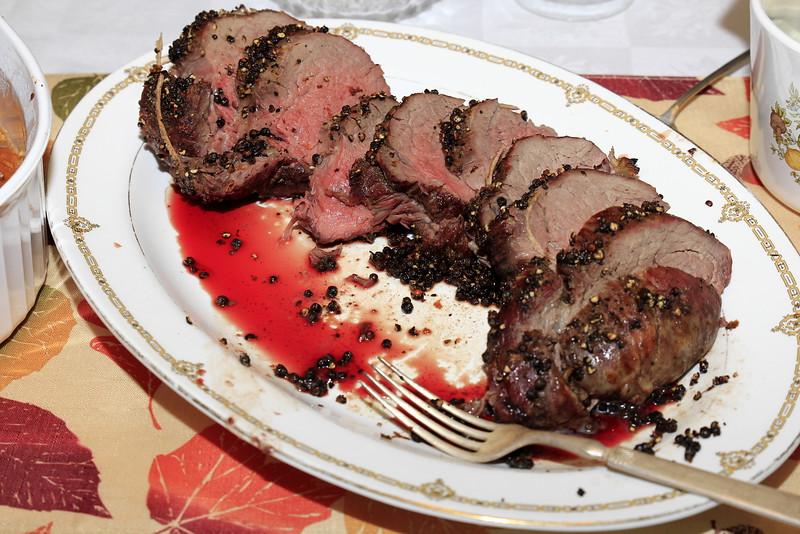 Beef tenderloin!