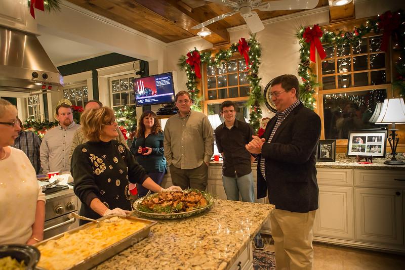 The Christmas Dinner at Rhetta's