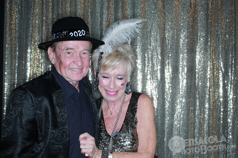 Pensacola Photo Booth at The District New Year's Eve Party 12-31-2019