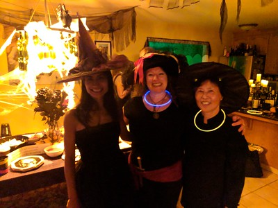 Two witches and a pirate