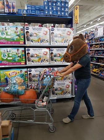 Always terrifying at Walmart