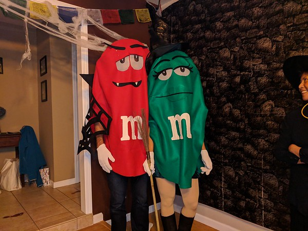 Because M&Ms have an evil side too