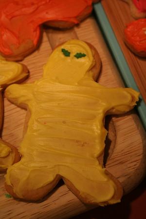 I got into the spirit. I did a Ninja cookie