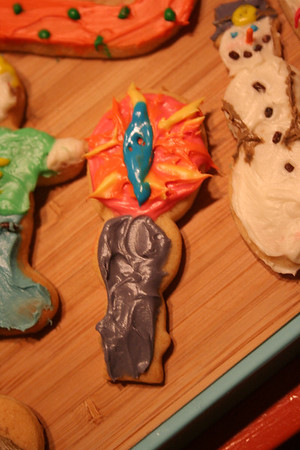 Rocky wanted a lord of the rings cookie