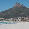 Another shot of the Lion's head from Camps Bay Beach