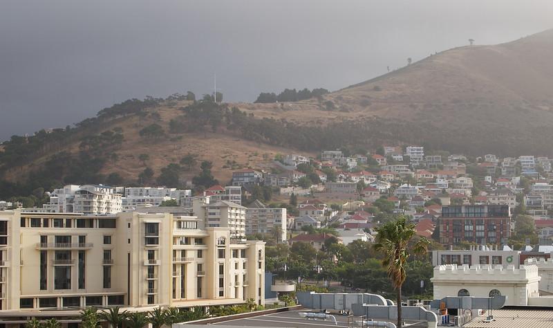 Signal Hill in the rain