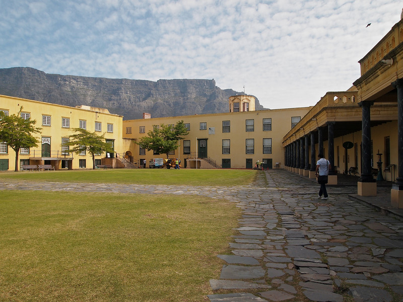 The main cour yard of the Castle of Good Hope