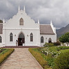 And also a visit to the historic village of Franschoek.  This is the village's Dutch Reform Church.