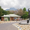 The wine tour also included a brief diversion to the jail where Nelson Mandela spent his final days in captivity.  The statue depicts Nelson Mandela's long walk to freedom.