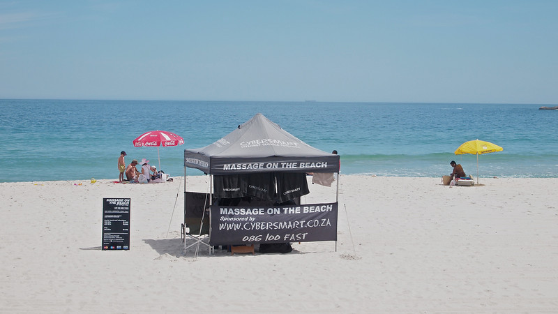 Massage Parlour on Camps Bay Beach
