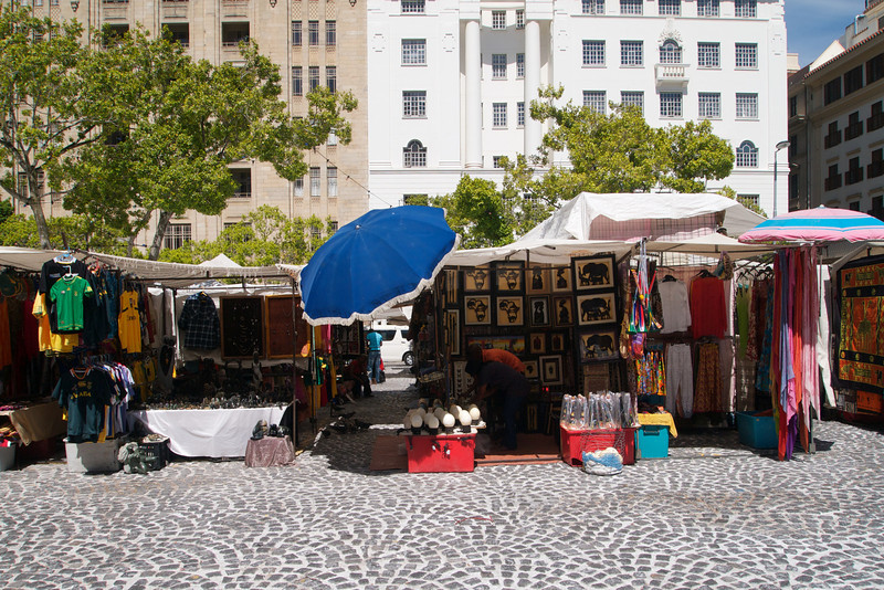 The afternoon of the second was spent with a stroll around Cape Town's city centre, taking in Greenmarket square.
