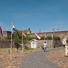 And a visit to the castle of Good Hope where all the flags that have ever flown over Cape Town can be seen.