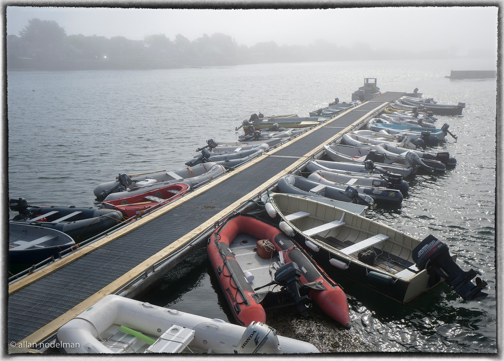 Same Boats Next Morning in the Fog