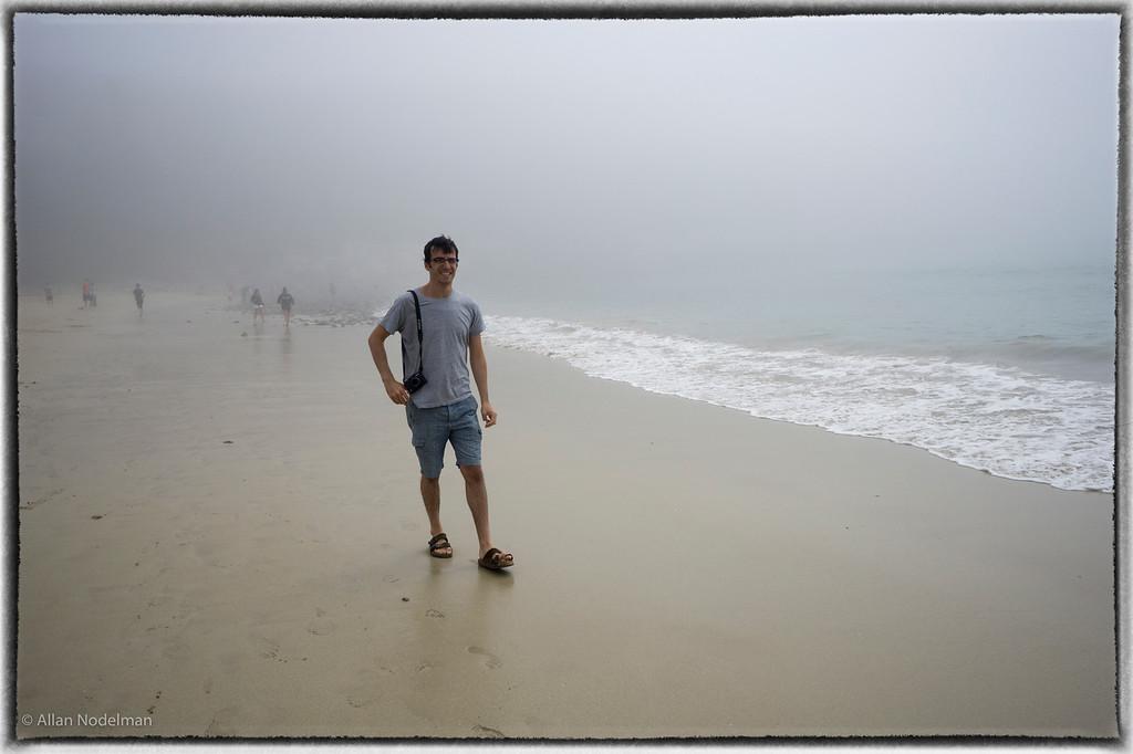 Lonny Walking in the Fog