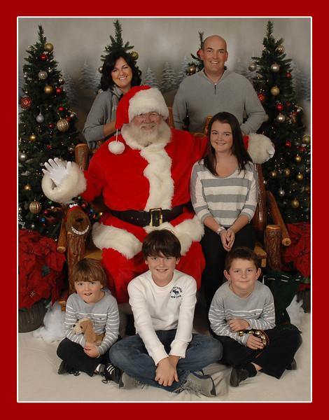Toner Family 2011 Holiday Card