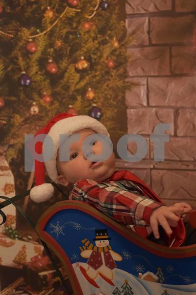 Tony's First Christmas Pics.