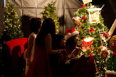 Girls on Santa's Sleigh