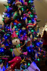 Mardi Gras Tree close up