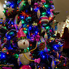 Mardi Gras Tree close up