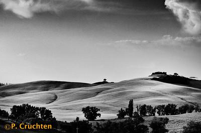 Tuscan landscape near Murlo