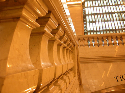 Grand Central is all marble and brass and well, grand!