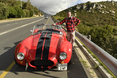 Me with my dreame car AC Cobra