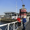 Me and Johny  from the trip to the harbor  in cape town