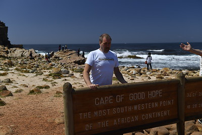 Johnny At Cape Point