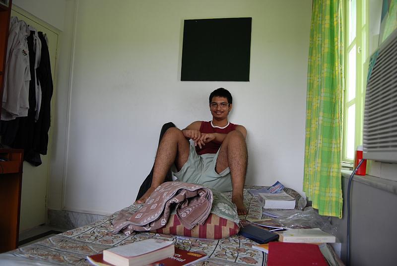 'Chhotu' Sayak in his big den