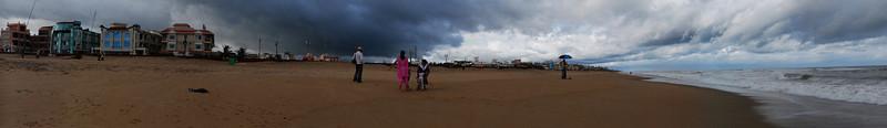 Panorama: Puri sea beach