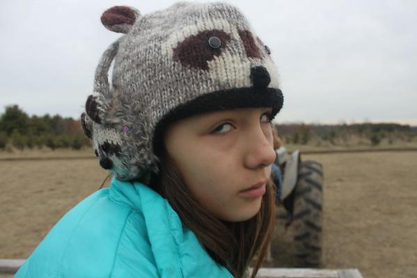 Trip to Pioneer Christmas Tree Farm, 2014