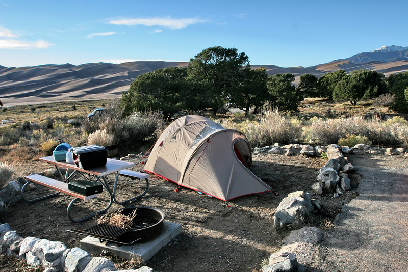Great Sand Dunes - Campsite 001