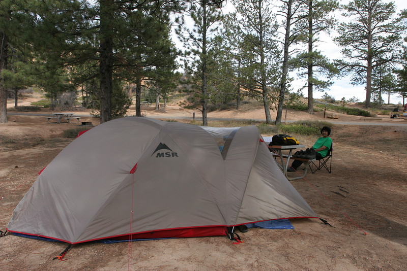 Bryce Canyon - Campsite 001