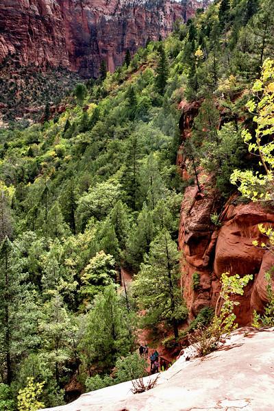 Zion - Emerald Pools Trail - Return Trail - 001