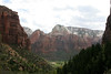 Zion - Emerald Pools Trail - View Back to Valley - 002